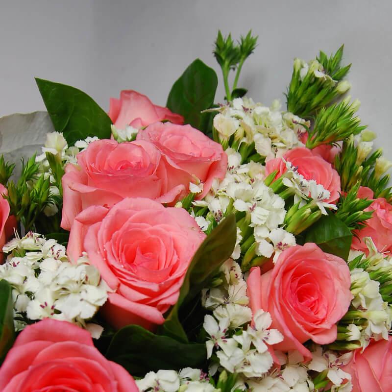 【巧繪網—傳情花束花禮】FR530102愛麗絲的夢‧優質生日禮物/畢業花束熱賣中