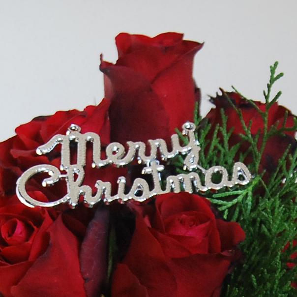 【巧繪網-TR040018玫瑰聖誕樹-中】最特別的耶誕驚喜/聖誕花束/聖誕禮物/浪漫推薦