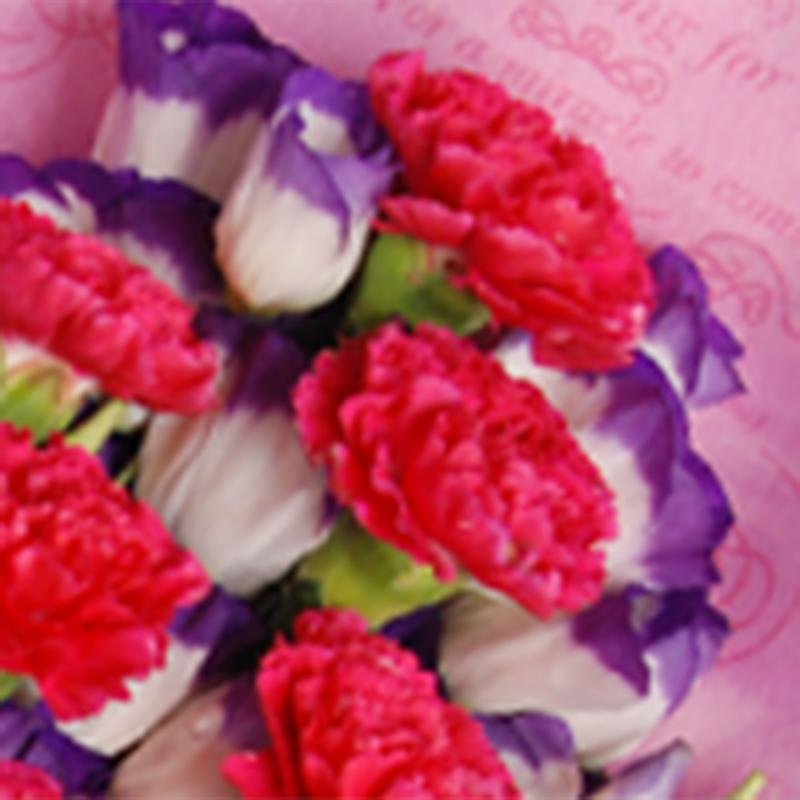 【巧繪網—感恩‧母親節花束】FK030043網路花店‧永恆的馨=大康1把‧當季新鮮花材
