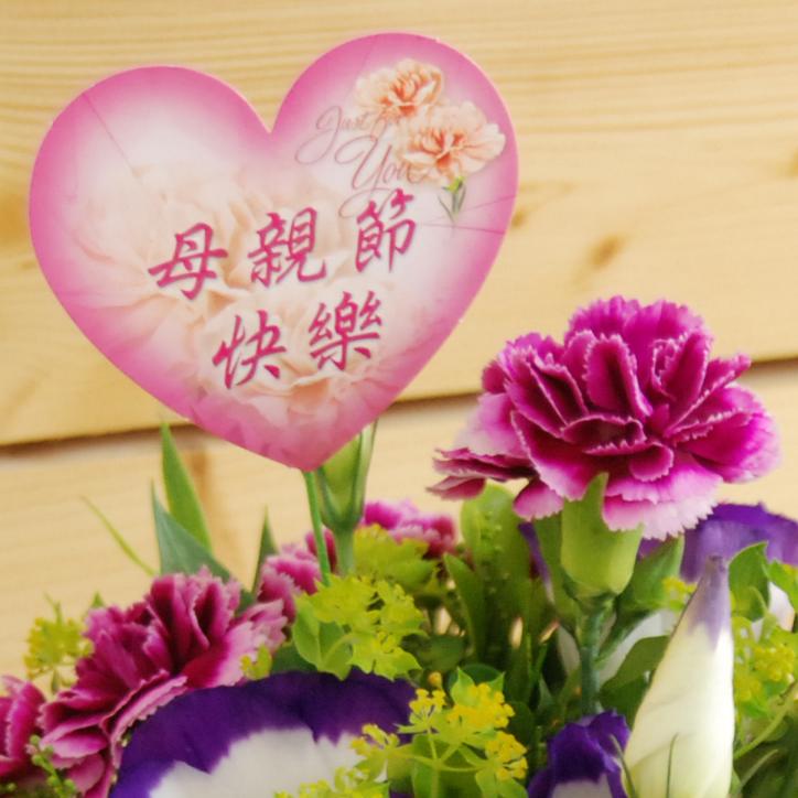 【巧繪網-DF030340迷你媽咪】母親節花禮/花店/康乃馨花束/提供花卡服務