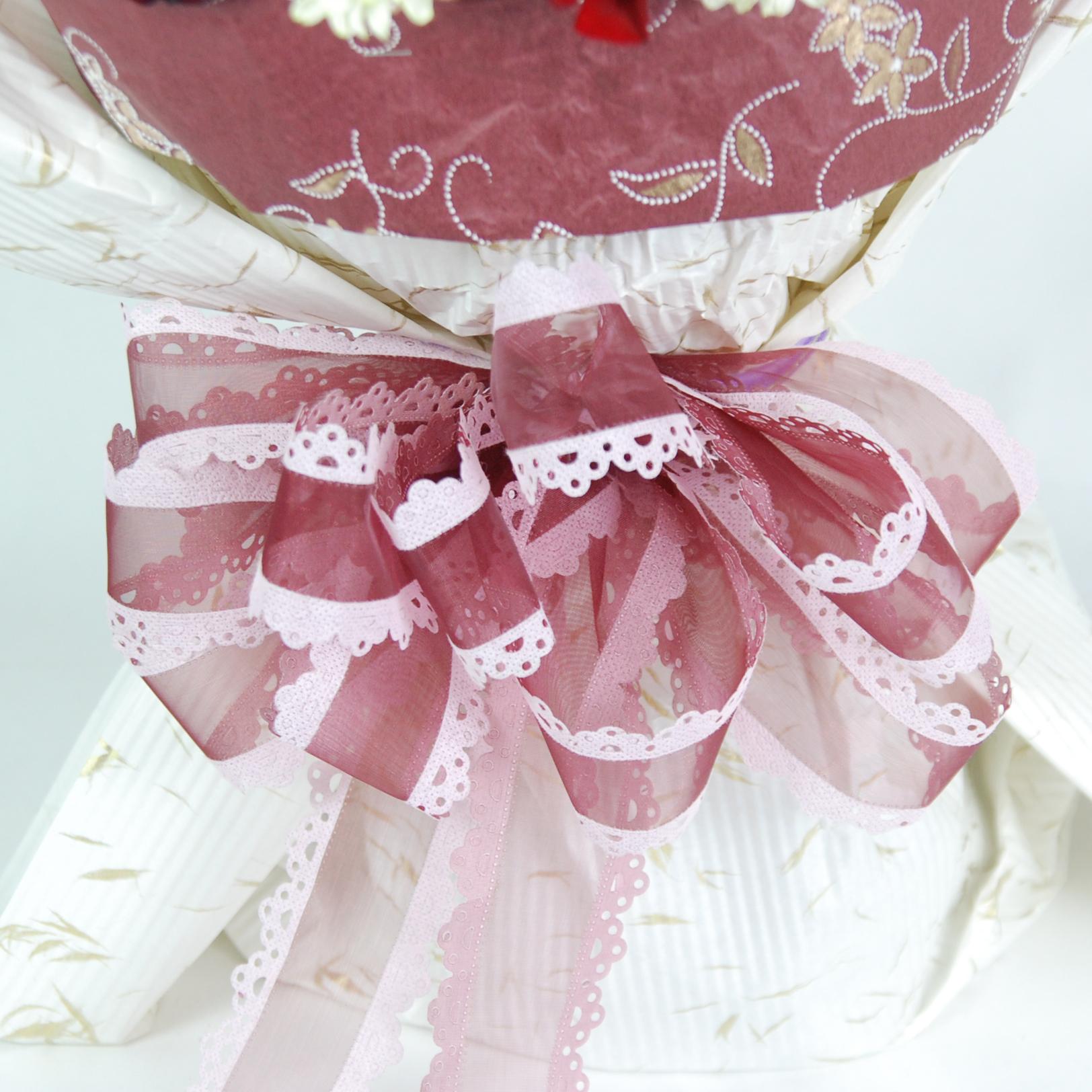 【巧繪網-FR050081無與倫比】=33朵艷麗紅玫瑰+當季新鮮花材=傳情花束/網路花店