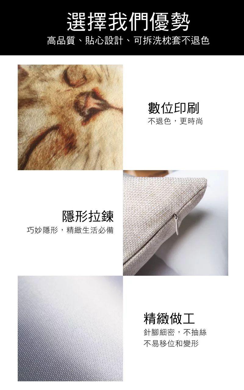 custom-pillow-pictures-pillowcase 客製化寵物抱枕 寶寶 汽車靠墊沙發抱枕| 家飾擺設 亞麻 寶寶絨