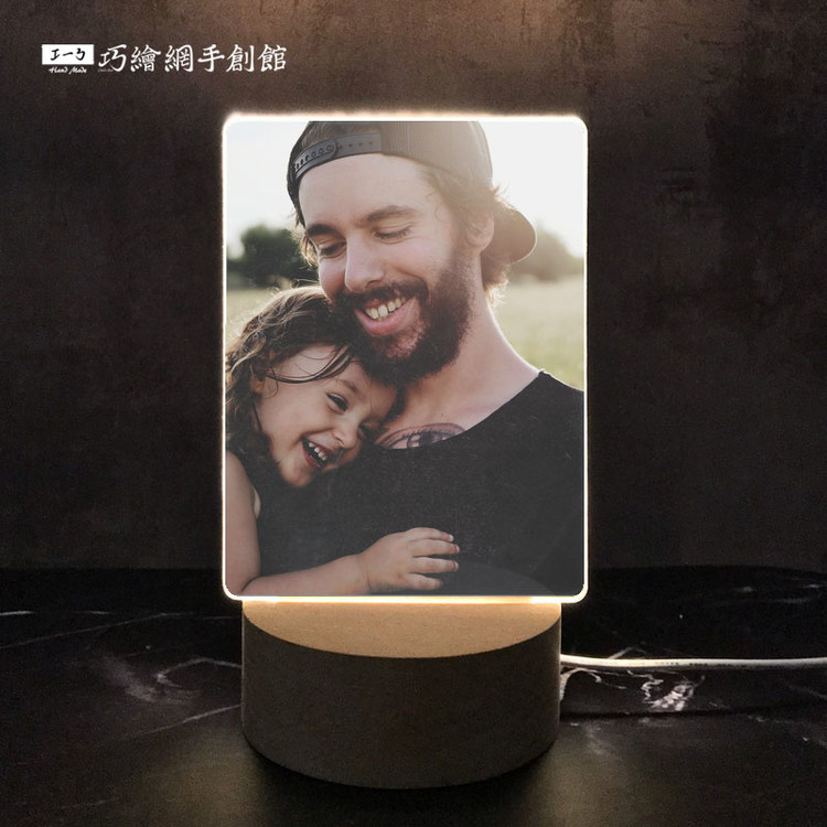 custom-acrylic-lamp-vertical 客製壓克力小夜燈 情人節 送禮 禮品| 送禮推薦