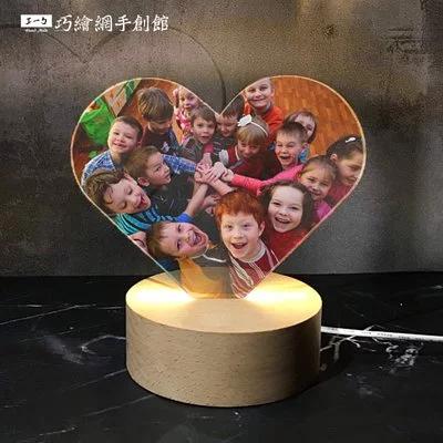 graduation-custom-acrylic-lamp-heart 客製壓克力小夜燈 情人節 送禮 禮品| 畢業季送禮推薦